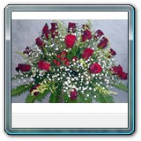 Mic-007 Price € 50 30 red roses in a basket